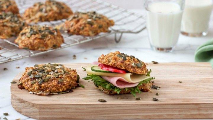 Proteinrike scones til helgensaktiviteter