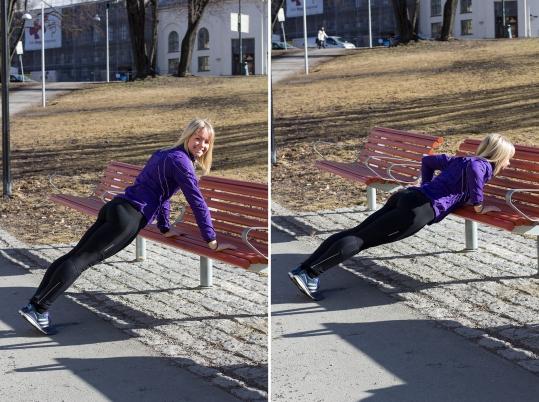 Tt tips til superenkle øvelser du kan gjøre utendørs - klinisk ernæringsfysiolog Anne Marie Skjølsvik