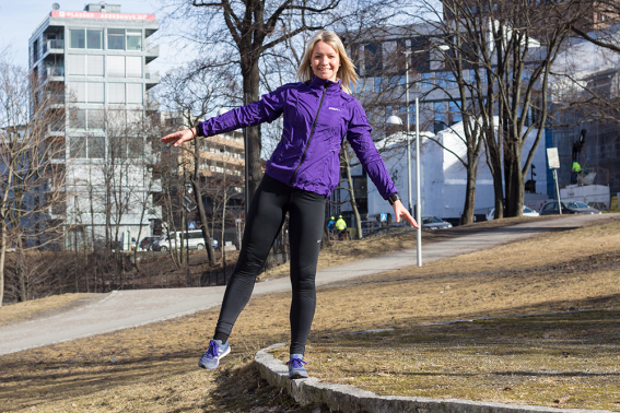 Balanseøvelse - tren utendørs - klinisk ernæringsfysiolog Anne Marie Skjølsvik