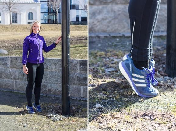 Tåhev - trening utendørs - klinisk ernæringsfysiolog Anne Marie Skjølsvik