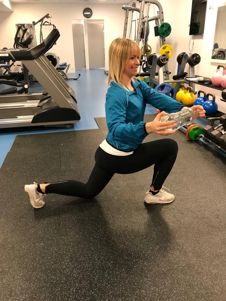 Utfall med rotasjon - trening for gravide - klinisk ernæringsfysiolog Anne Marie Skjølsvik