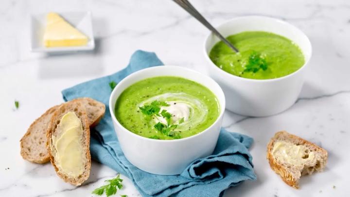 grønn suppe ertesuppe
